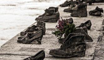 Holocaust memorial,Budapest,Hungary